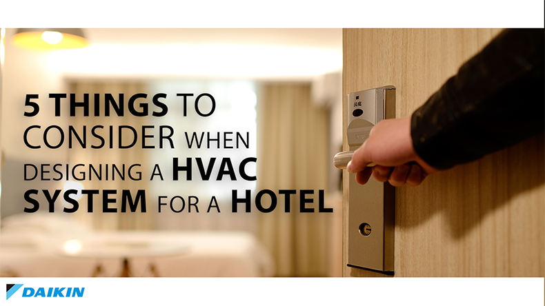 HVAC systems for hotels