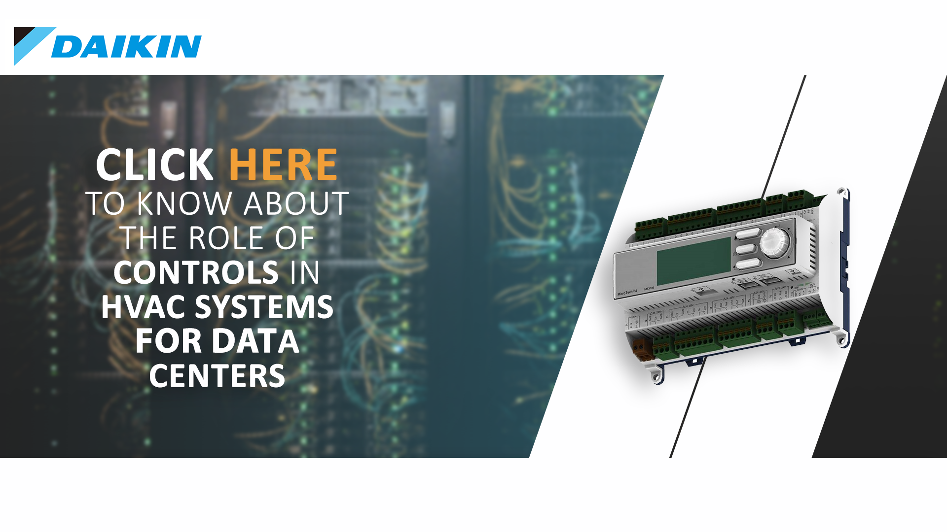 Controls in Data Centers