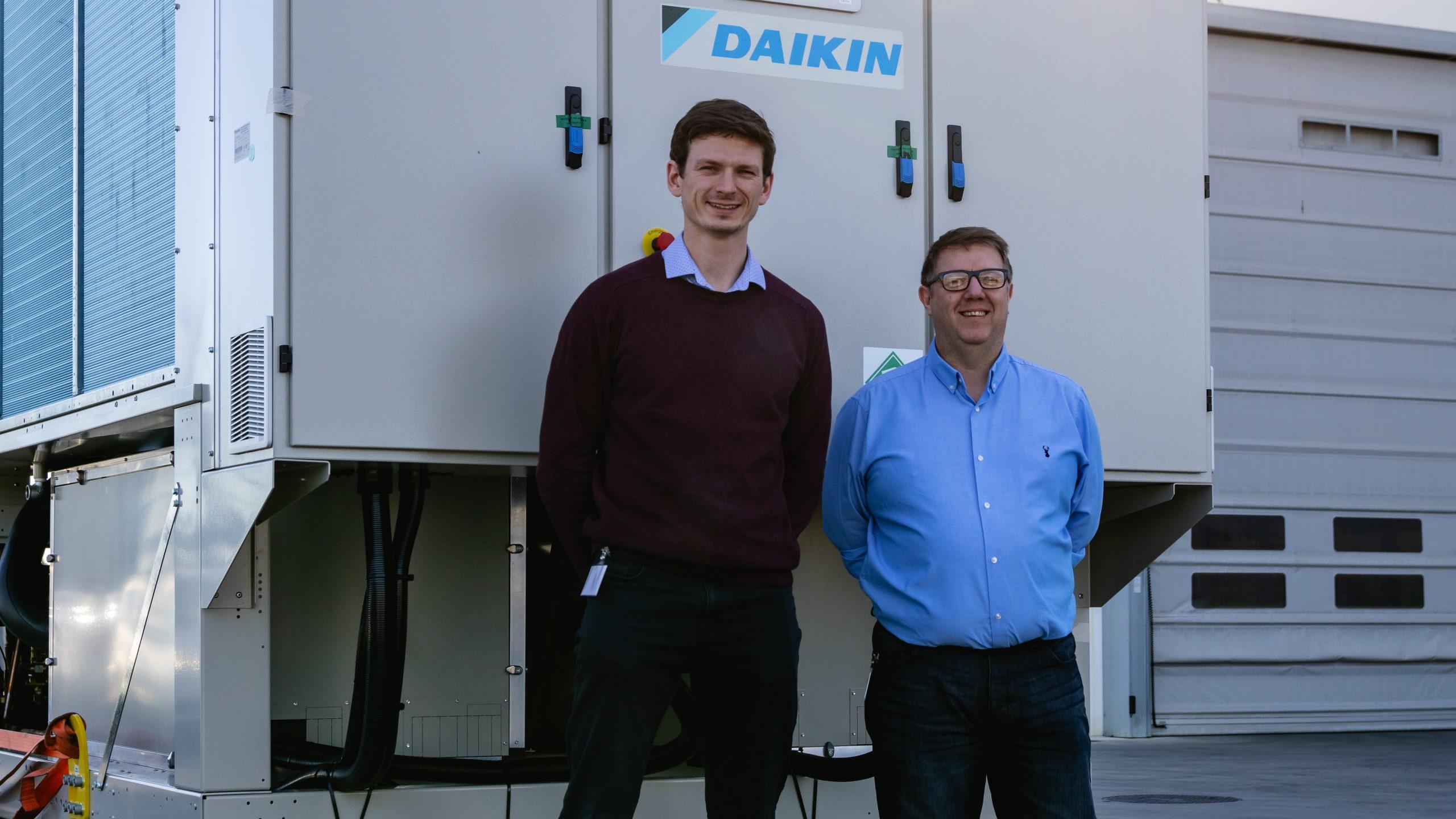 Daikin multipurpose chiller for a hospital