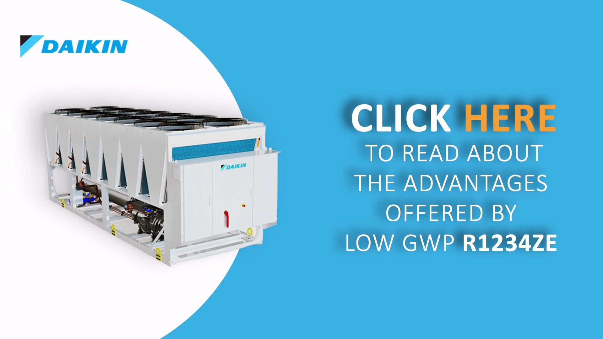 The advantages of R1234ZE refrigerant