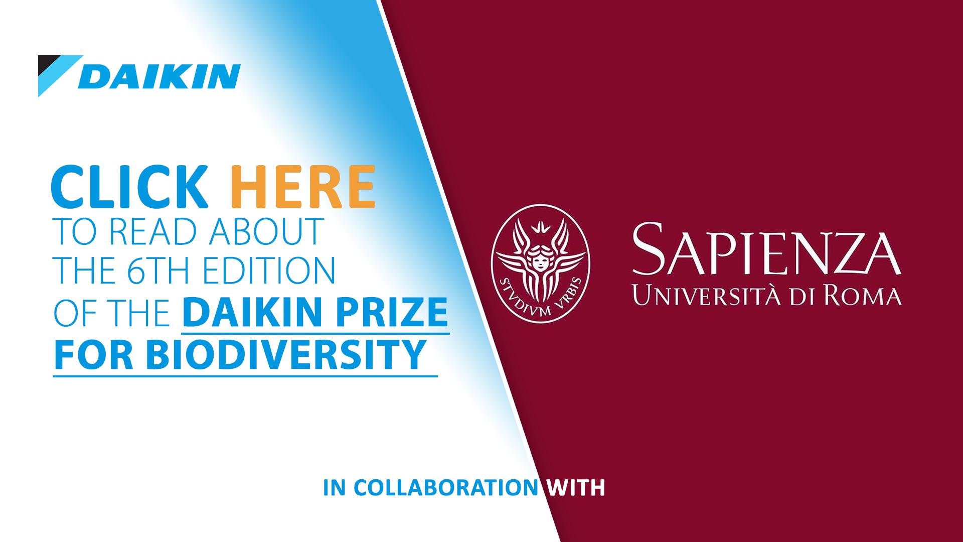 Daikin Prize for Biodiversity Conservation