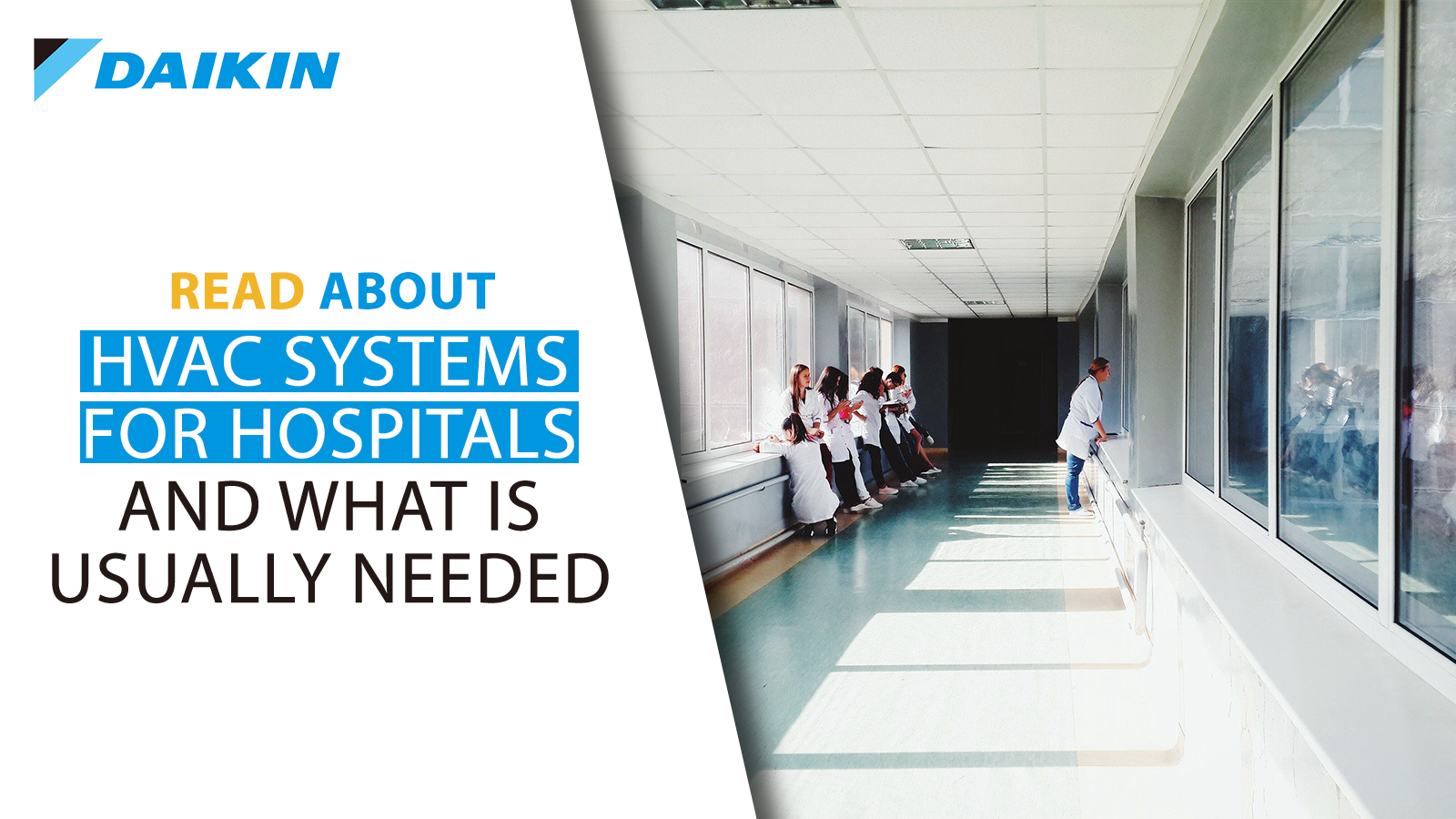 HVAC systems for hospitals