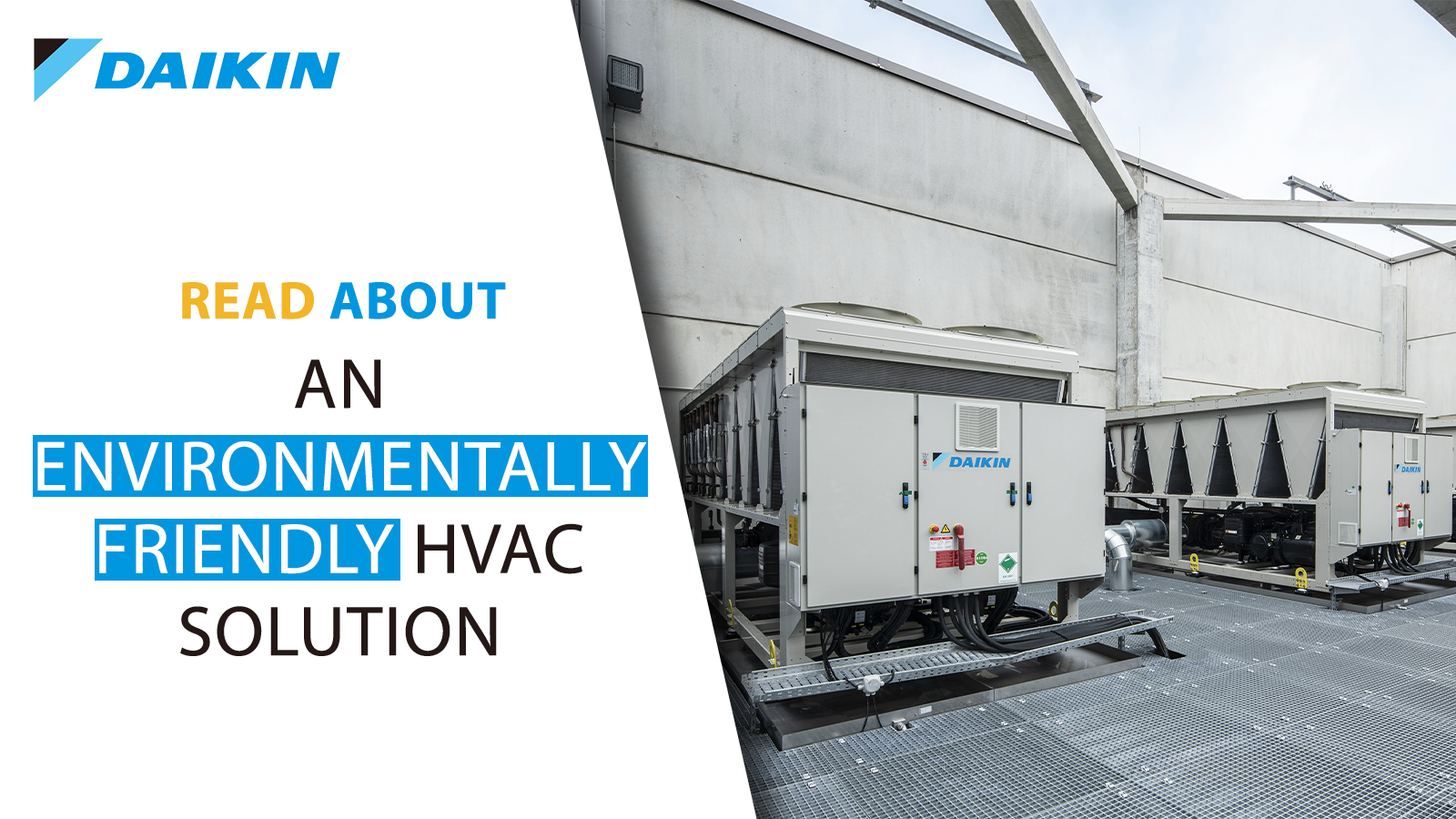 environmentally friendly HVAC solution