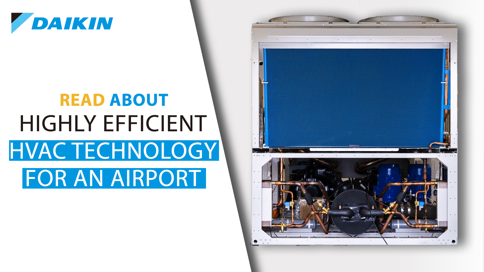 HVAC technology for an airport