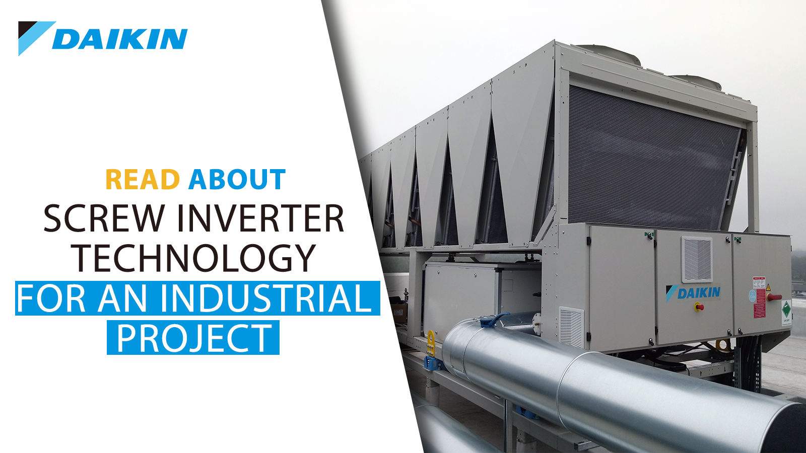 Screw Inverter technology for an industrial project