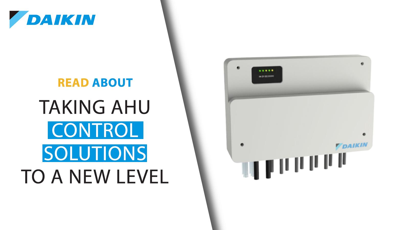 AHU Digital Control Platform