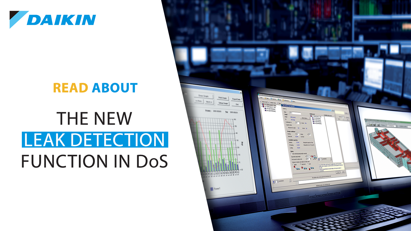 Daikin new Leak Detection function